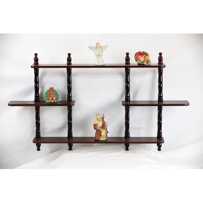 mega home 3 tier wall shelf wayfair rh wayfair com 3 tier wall shelving unit 3 tier wall shelf unit