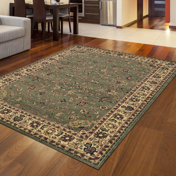 Safira Sage/Ivory Area Rug by Astoria Grand