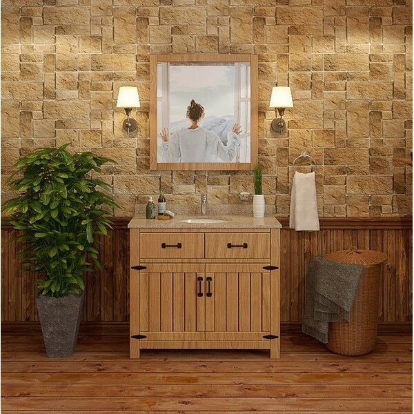 Countryside 37 Single Freestanding Vanity Set by DECOLAV