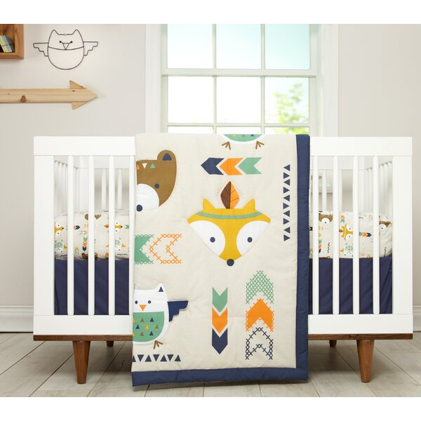 Aztec Infant 5 Piece Crib Bedding Set by Little Lo