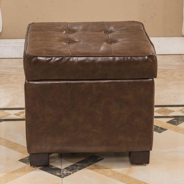 Elegant Storage Ottoman by Bellasario Collection