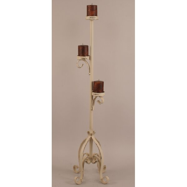 Rustic Living Metal Candlestick by Coast Lamp Mfg.