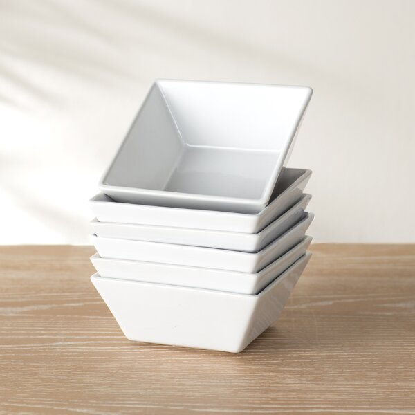 Wayfair Basics Square Bowl (Set of 6) by Wayfair Basics™