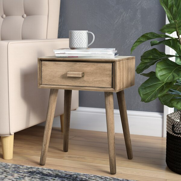 Audrick End Table With Storage by Trent Austin Design