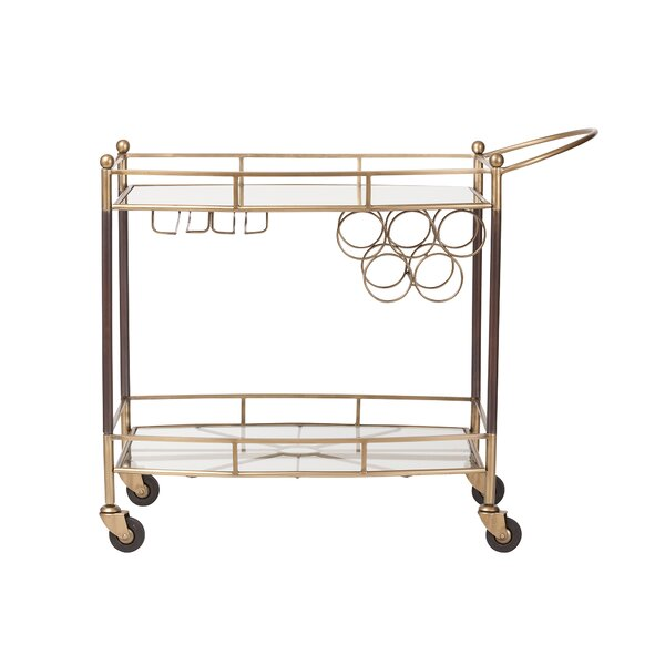 Grandview Bar Cart by Symple Stuff