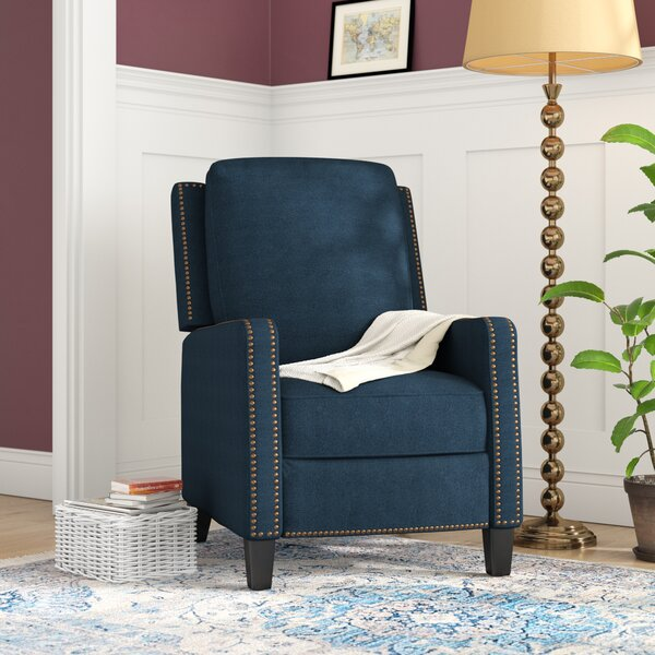 Velma Traditional Manual Recliner by Charlton Home