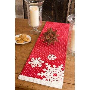 Snowflake Christmas Table Runner