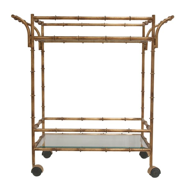 Maclean Tea Bar Cart By Everly Quinn