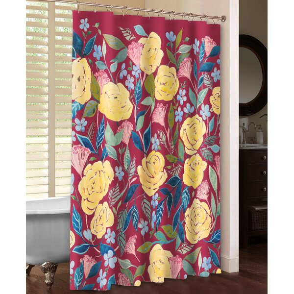 Unbound Blossoms Shower Curtain by Laural Home