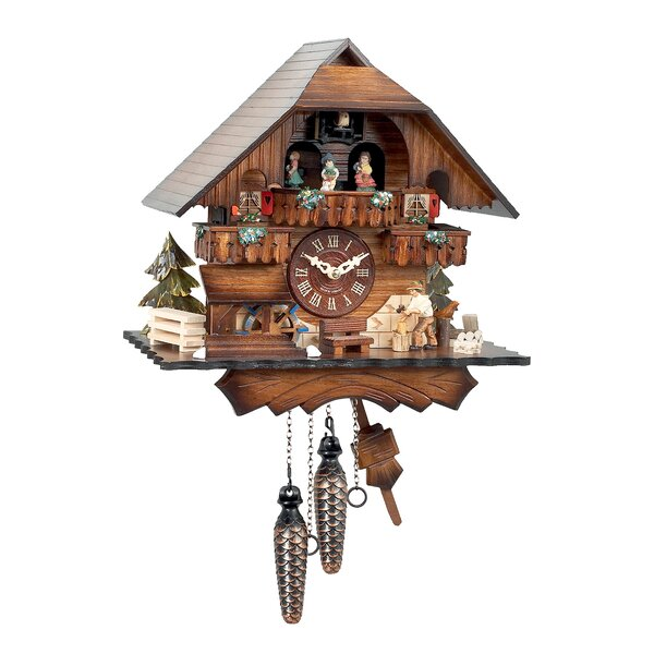 Battery Cuckoo Clock by Alexander Taron