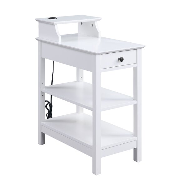 Melvindale End Table With Storage By Breakwater Bay