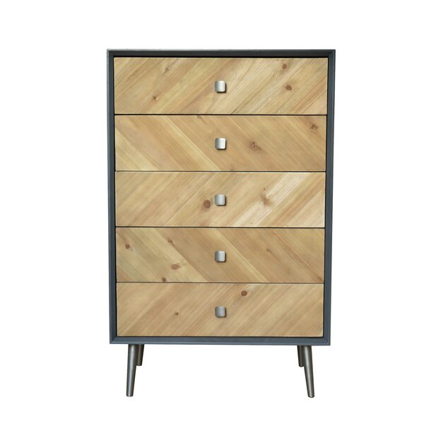 Baca 5 Drawer Accent Chest By Corrigan Studio