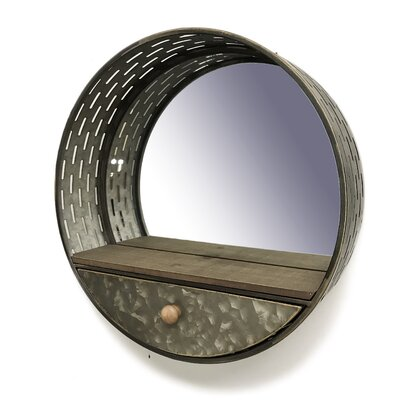 Wine Barrel Mirror Wayfair