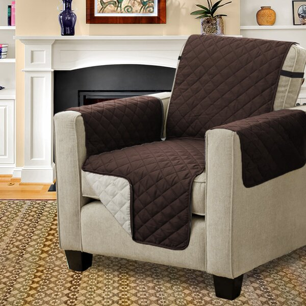 Diamond T-Cushion Armchair Slipcover by Winston Porter