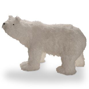 polar bear christmas decoration - Pre Lit Polar Bear Christmas Decoration Set Of 3