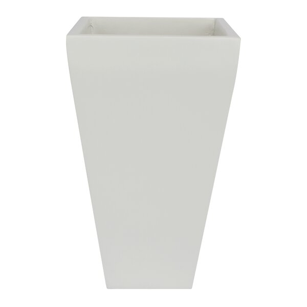 Fabrizio Tall Fiberglass Pot Planter by Wrought Studio