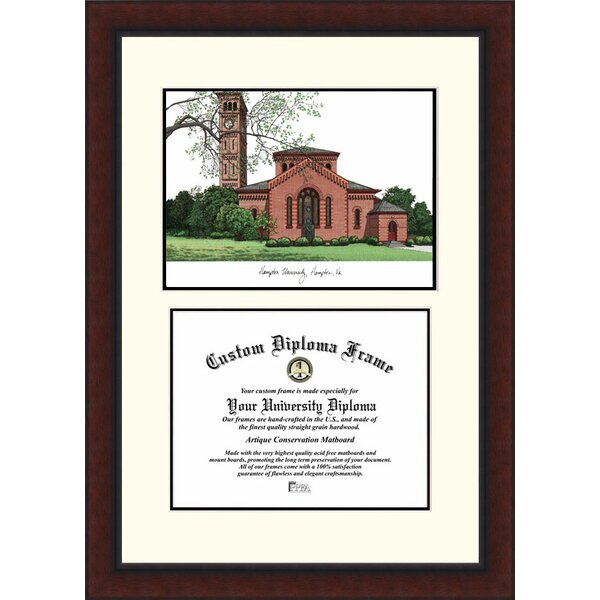 NCAA Hampton University Legacy Scholar Diploma Picture Frame by Campus Images