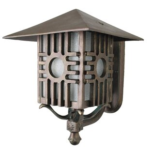Inexpensive Penfield 1-Light Outdoor Sconce By Alcott Hill