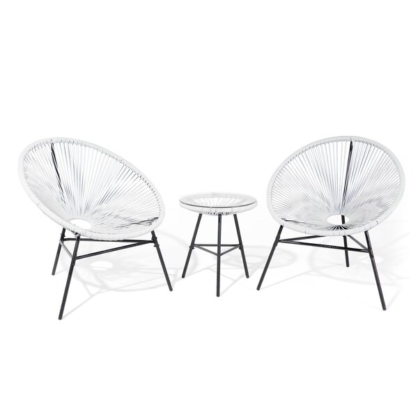 Fiedler 3 Piece Patio Chair Set by Ivy Bronx