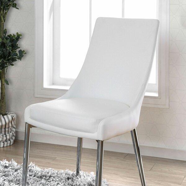 Waldron Upholstered Dining Chair (Set of 2) by Orren Ellis Orren Ellis