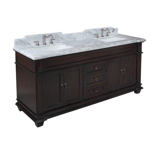 Elizabeth 72 Double Bathroom Vanity Set by Kitchen Bath Collection
