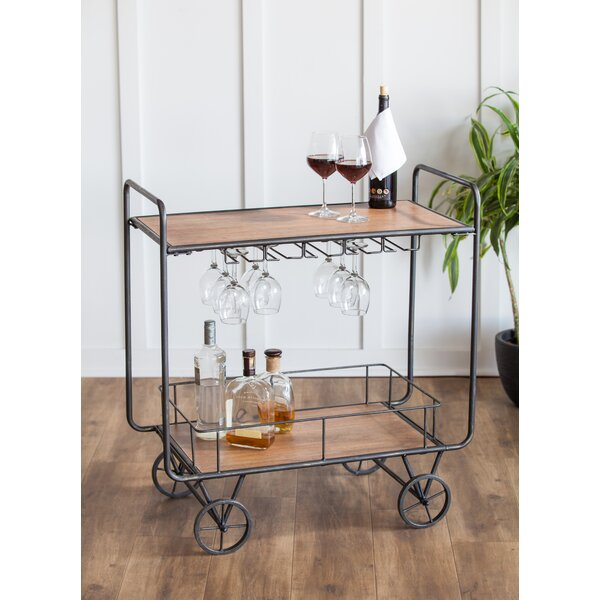 Wilfred Bar Cart by Gracie Oaks
