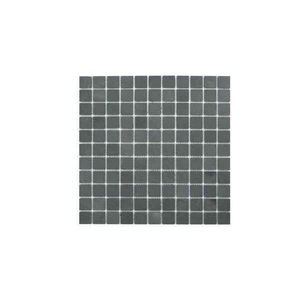 Nairn 1 x 1 Granite Mosaic Tile in Andesite