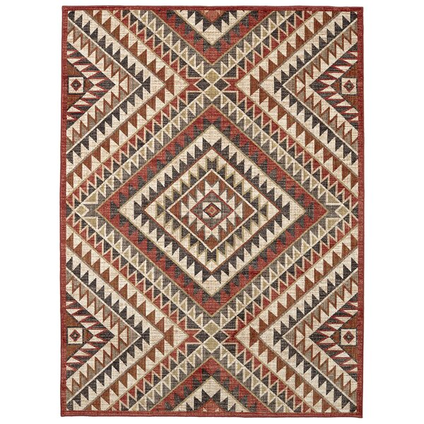 Destinations South Pass Brown/Gold Area Rug by Mohawk Home