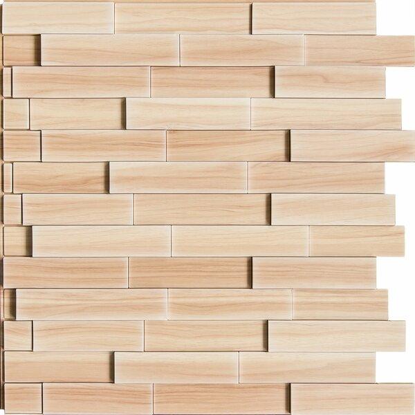 Anouk 24 L x 24 W Brick Tile in Dark Okasha/Amati by Red Barrel Studio