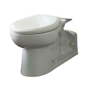 Yorkville High Dual Flush Elongated Toilet Bowl by American Standard