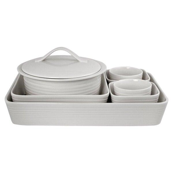 White 7 Piece Bakeware Set by Gordon Ramsay by Royal Doulton