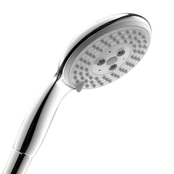 Raindance E 100 3-Jet Rain Handheld Shower Head By Hansgrohe