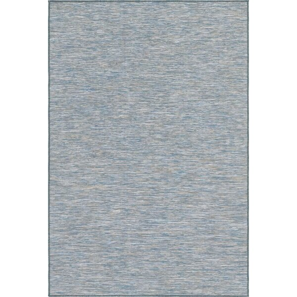 Fagundes Blue Indoor/Outdoor Area Rug by Wrought Studio