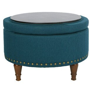 Compare Hogsett Ottoman By Charlton Home