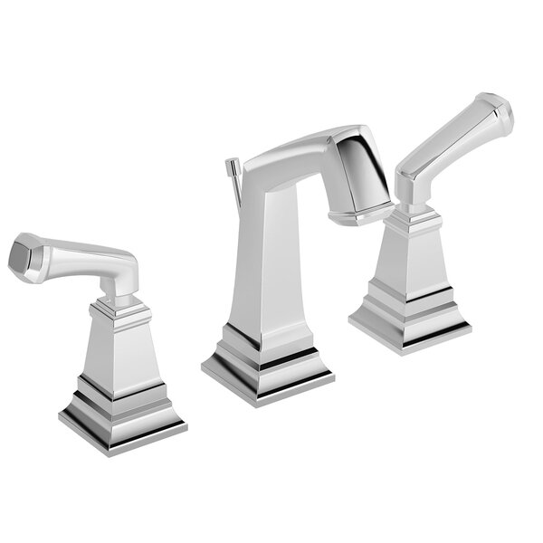 Oxford Deck Mounted Widespread Bathroom Faucet by Symmons