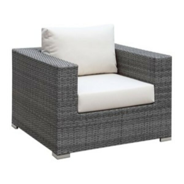 Shearin Patio Dining Chair with Cushion by Ivy Bronx