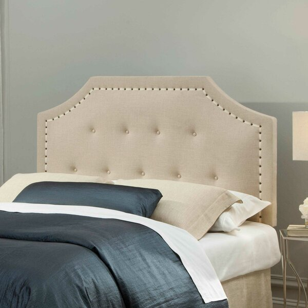 Ariade Upholstered Panel Headboard by Darby Home Co Darby Home Co