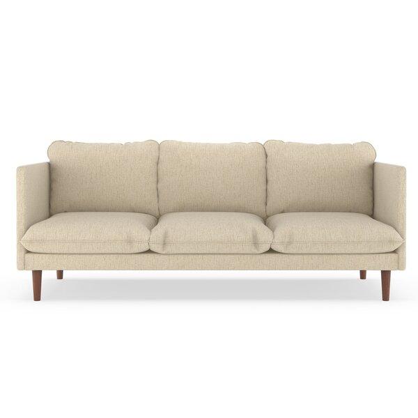 Rodriques Pebble Weave Sofa By Brayden Studio