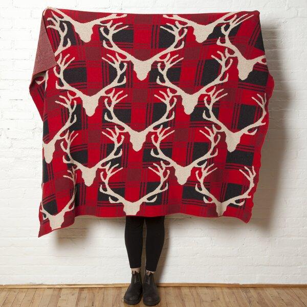 Buffalo Plaid Throw Blanket by In2Green