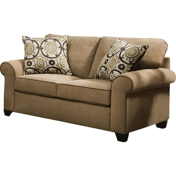 Simmons Upholstery Milligan Loveseat by Darby Home Co