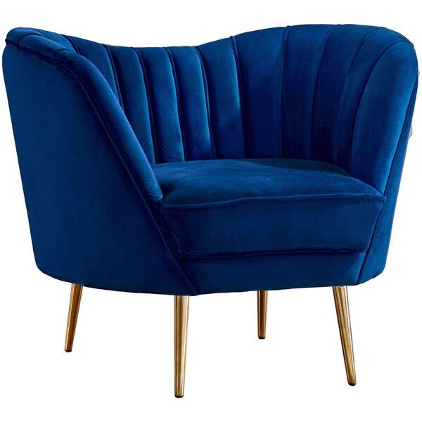 Koger Barrel Chair by Everly Quinn Everly Quinn