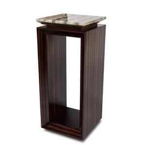 Sergio Tall End Table by Michael Amini (AICO)
