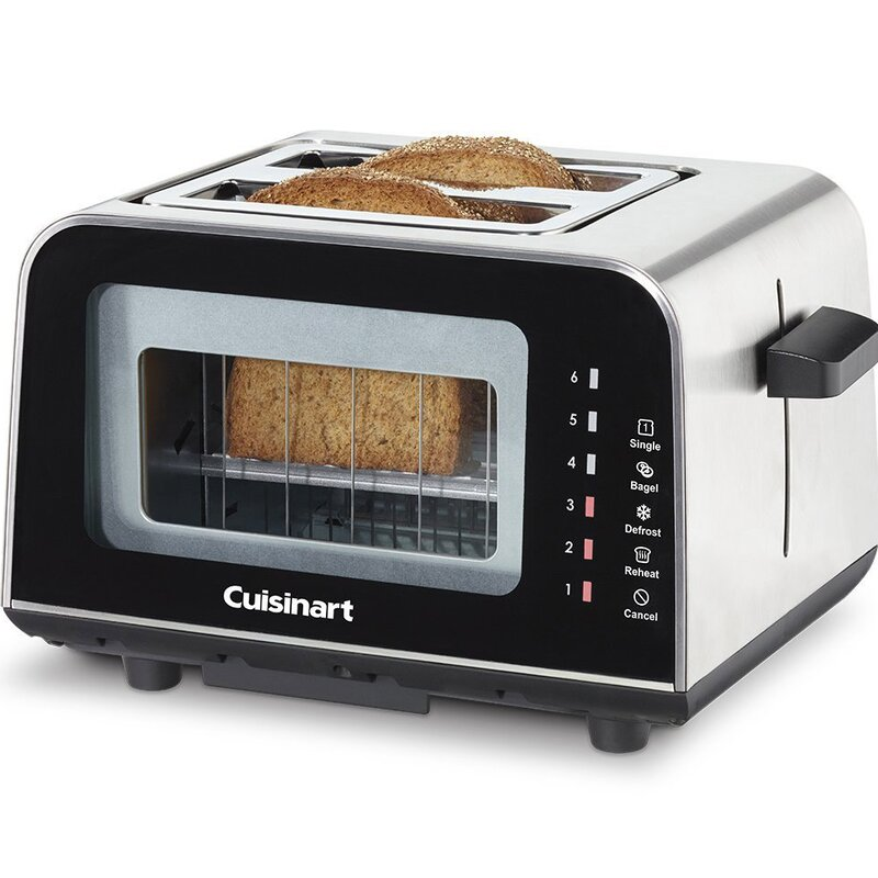 Cuisinart ViewPro 2 Slice Glass Toaster & Reviews
