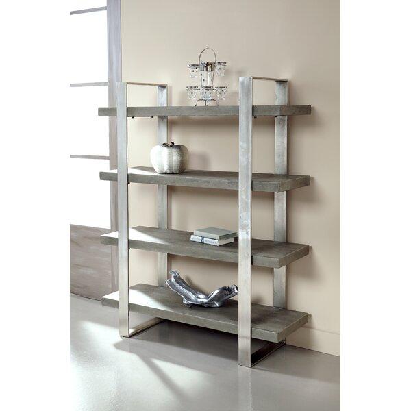 Dearmond 4 Shelf Etagere Bookcase by Foundry Select