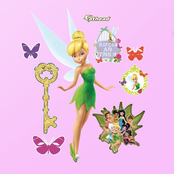 Disney Tinker Bell Wall Decal by Fathead