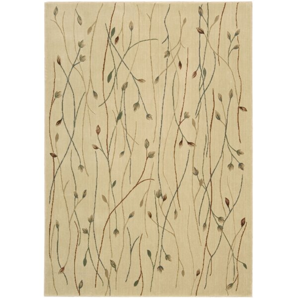 Heuser Hand-Woven Ivory Area Rug by Winston Porter