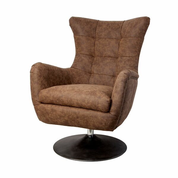 Whiteley Swivel Lounge Chair by Latitude Run