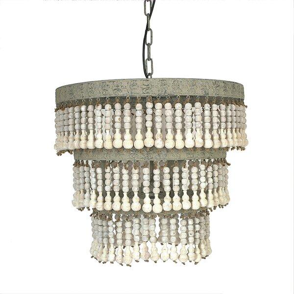 Mistana cheyanne 3 light chandelier reviews wayfair aloadofball Images