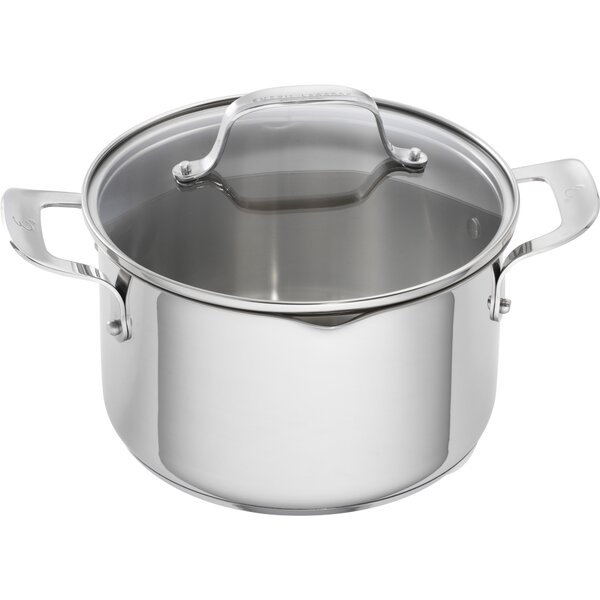 5 Qt. Stainless Steel Round Dutch Oven (Set of 2) by Emeril Lagasse