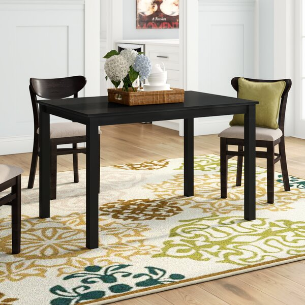 Madelina Solid Wood Dining Table by Winston Porter